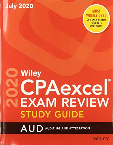 Compare Textbook Prices for Wiley CPAexcel Exam Review July 2020 Study Guide: Auditing and Attestation 1 Edition ISBN 9781119714767 by Wiley