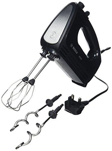 Bosch CleverMixx MFQ2420BGB Hand Mixer, Plastic, 400 W - Black/Stainless Steel