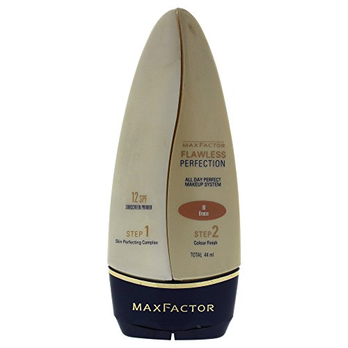 Max Factor Flawless Perfection Foundation SPF 12, No. 75 Golden, 1.48 Ounce