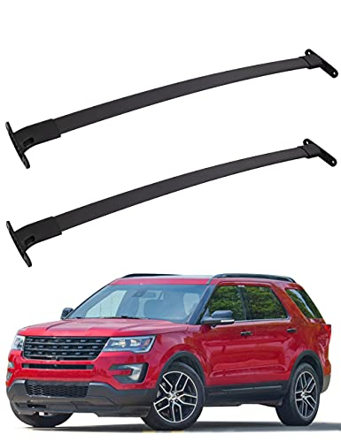 FengYu Roof Rack Cross Bars for 2016-2019 Ford Explorer Aluminum Crossbars Rooftop Cargo Luggage...