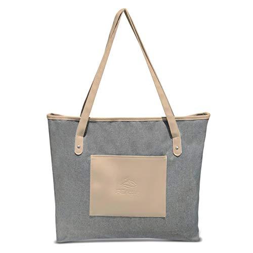 FE Active - High-End Laptop Tote Bag Waterbestendig vrouwen werk en reizen Schoudertas lichtgewicht ontwerp voor dagelijks gebruik | Ontworpen in Californië, Verenigde Staten