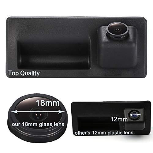 HD CCD IP68 kofferbakgreep waterdicht voertuig-specifieke handgreep camera geïntegreerd in achteruitrijcamera voor Audi A3 A4 A4L S4 A5 S5 Q3 Q5 / Touareg/Golf VI Variant/Skoda/Porsche/Passat, Achteruitrijcamera.