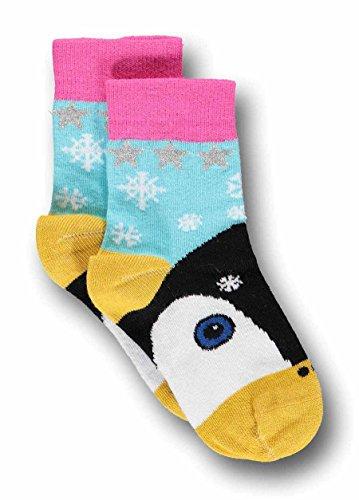 UBANG babblechat Socken Ankle Socks Talkie Walkie Pinguin Gr. 33-36