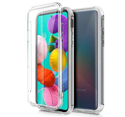 Funda Completa Transparente Pc + TPU Full Body 360 para Samsung Galaxy A51