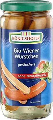 Königshofer Bio Bio-Wiener 6 Stück (6 x 400 gr)