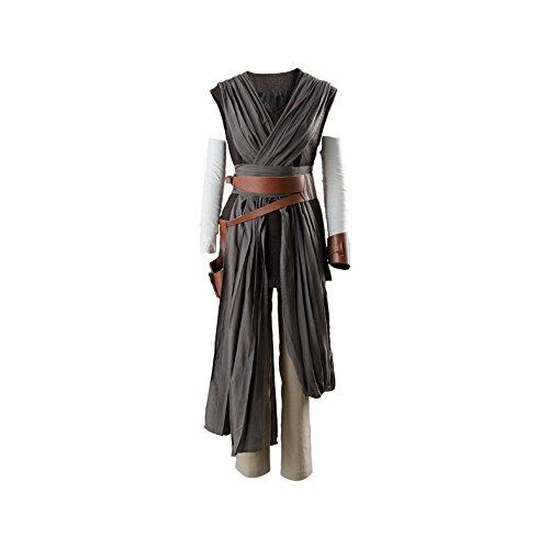 Manfis The Last Jedi Rey - Disfraz de cosplay para mujer