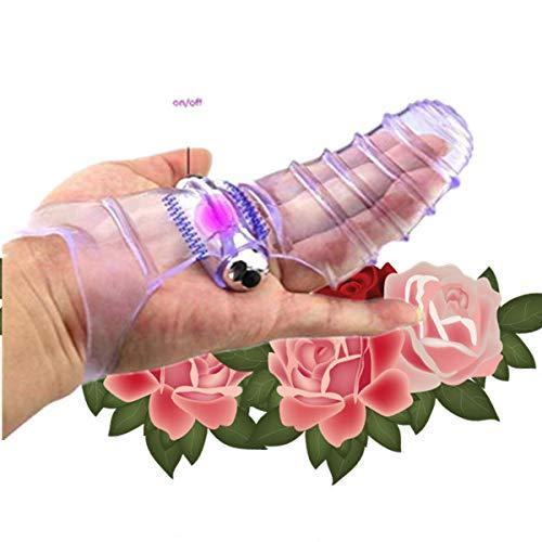 RianGor Nueva Funda Protectora de Dedos Transparente con líneas para Mujer