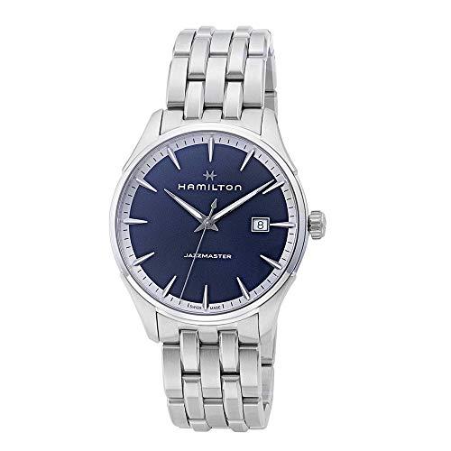 HAMILTON(ハミルトン) 腕時計 ジャズマスタージェント ブルーダイヤル H32451141 [並行輸入品]