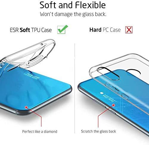 جراب Minwu لهاتف Realme X7 Pro، تصميم أنيق وبسيط مضاد للصدمات ومصنوع من جل TPU سيليكون شفاف ممتص للصدمات لهاتف Realme X7 Pro-white