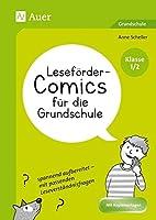 Lesefoerder-Comics fuer die Grundschule - Klasse 1/2: spannend aufbereitet - mit passenden Leseverstaendnisfragen