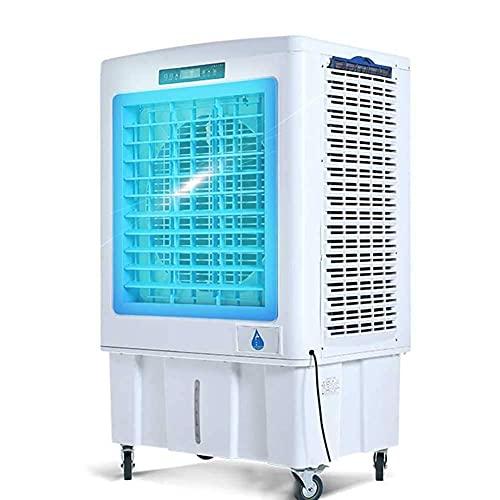 Refrigeradores de aire evaporativos Enfriador de aire de enfriamiento de la planta industrial, aire acondicionado móvil grande ventilador de aire acondicionado, modo de deshumidificador incorporado, m