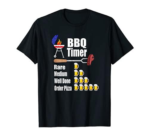 Lustiger Grill-Timer – Grill-Grill-Geschenk T-Shirt