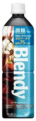 ブレンディ ボトルコーヒー 微糖 900ml×12本 PET