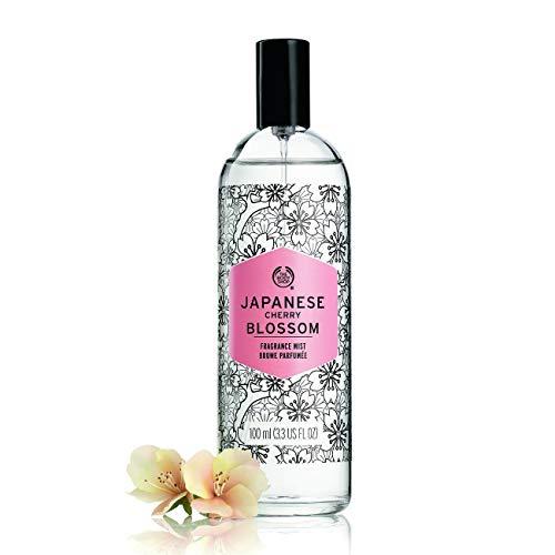 The Body Shop Japanese Cherry Blossom Fragrance Mist unisex, Japanese Cherry Blossom Körperspray 100 ml, 1er Pack (1 x 100 ml)