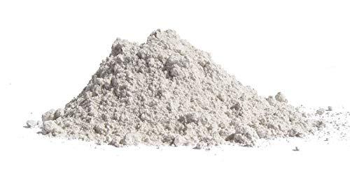 Carbonato de calcio impalpable muy fino - útil para pH del suelo - 0 - cerámica - 100 micras - polvo de mármol caco3 - inerte para el arte de resina y yeso - artesanía - idea de regalo original - 1 kg
