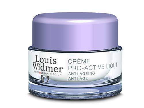 Louis Widmer Intensief Anti-ageing Gezicht Pro-active Cream Light P Creme Normale/gemengde Huid 50ml