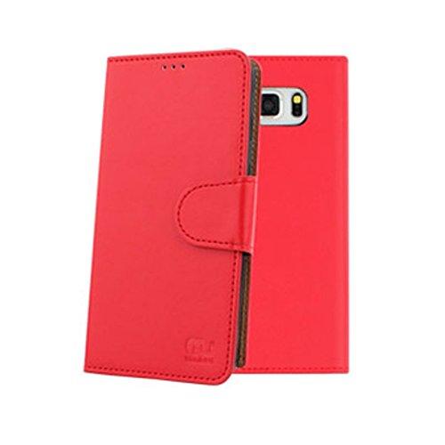 Zico Wallet Case for Luna TG-L800S (Red, Luna TG-L800S)
