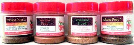 Volcano Dust - Combo Pack 4 - Bhut Jolokia, V. Dust 1, V. Dust 2 &...