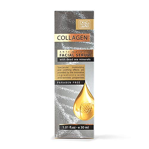 Dead Sea Collection Collagen Anti-Wrinkle Facial Serum with...