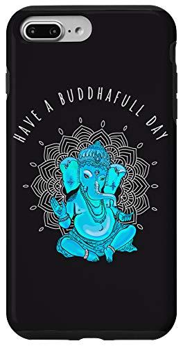 iPhone 7 Plus/8 Plus yoga om spiritual buddha day ganesha mandala elefant Case