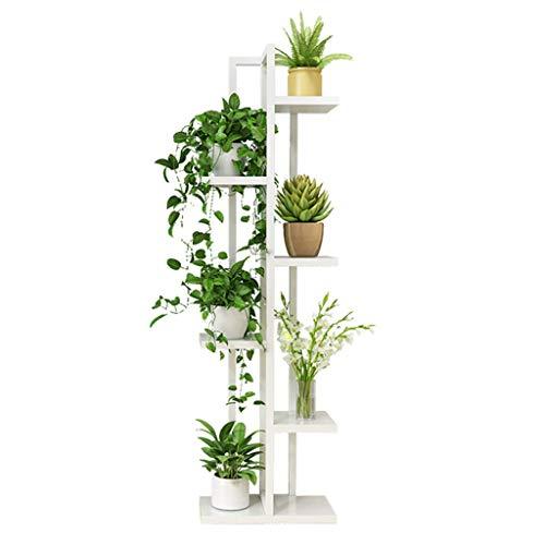 genral Metall Pflanzenständer, Innen- und Außen Gartendekoration 6-lagige Sämaschine Regal Montagemaschine Haus, Balkon, Büro, Garten Lagerung Display Stand
