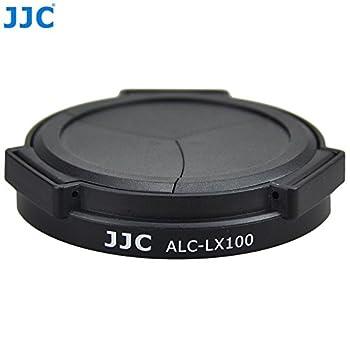 JJC ALC-LX100 Auto Open and Close Lens Cap For Panasonic LUMIX DMC-LX100 LEICA D-LUX Typ 109  Camera  Black