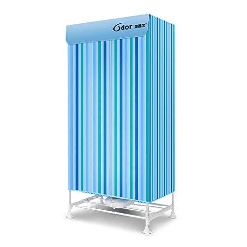Séchoirs grande capacité à double couche, sèche-linge domestiques, vêtements à séchage rapide, appareils de chauffage silencieux (Couleur : A)