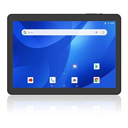 Android Tablets 10 inch, 3G Unlock Phablet with Protective Case, 16GB, Google Certified, Android 8.1 Go, Dual Cameras, 2.4G WiFi, Bluetooth, GPS