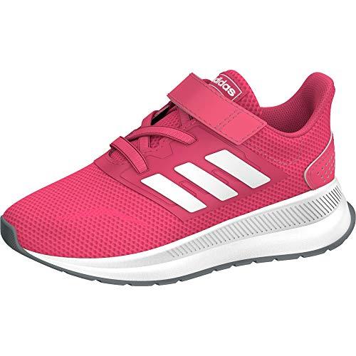 Adidas Runfalcon I, Zapatillas de Estar por casa, Multicolor (Rosrea/Ftwbla/Gritre 000), 26 EU