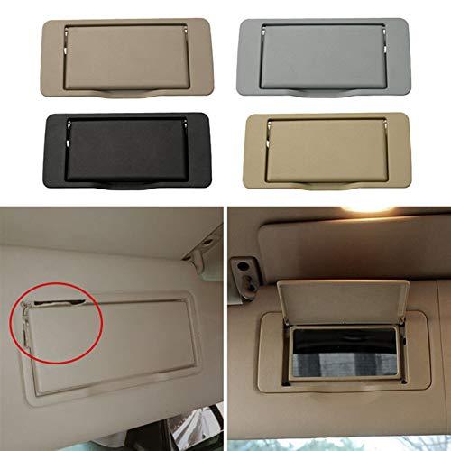 LIUZHENQIANG Lzqiang Reemplazo Lateral Visera Solar con Espejo de vanidad Ajuste para Mercedes Benz ML/GL/R Clase W164 W251 ML350 R300 Izquierda/Derecha (Color : Left Black)
