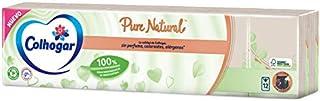 Colhogar Pañuelos Compactos Pure Natural, Beige, 12 Paquetes x 8