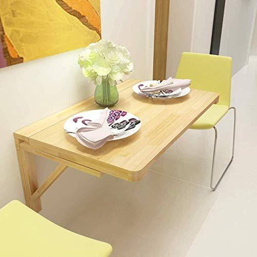 Lsqdwy Work Station Drop-Leaf Table Folding Wall-Mounted Home Office Table Waterproof Study Desk (Size : 60x45cm/24x18inch)
