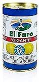 El Faro Aceituna Rellena Anchoa Gigante Faro 37O Ml 4440 ml