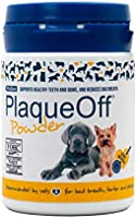 ProDen PlaqueOff Powder 60 g | For small dogs & cats | Bad breath, Plaque, Tartar