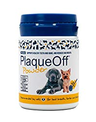 Helps to freshen breath and control plaque & tartar build up 100% natural supplement, made from a special type of seaweed Easy to use – sprinkle onto food daily Results seen in 3-8 weeks Tub lasts between 2-6 months (per individual pet)