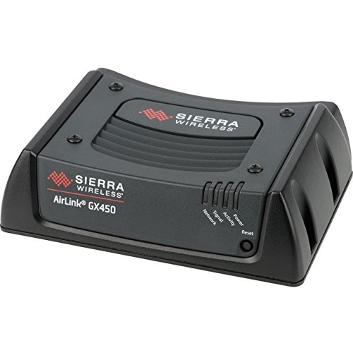 Sierra Wireless AirLink GX450 1102326 Rugged, Secure Mobile 4G LTE Gateway Modem - Verizon - DC Cable (No Antenna Included)