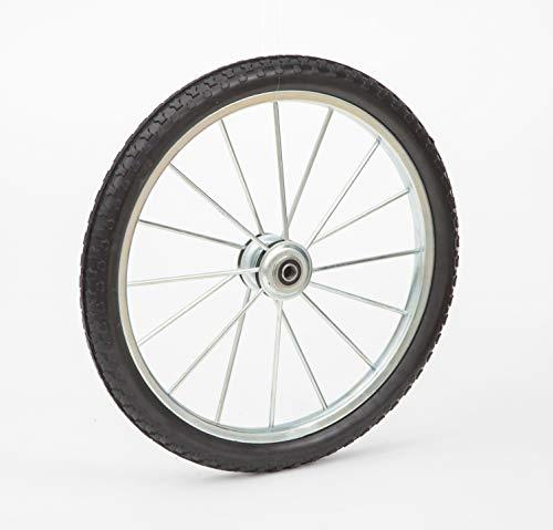 Lapp Wheels 20' to 26″ Flat Free Heavy Duty Metal Spoke Wheels,3/4-5/8 Bearing Size (20X1.95...