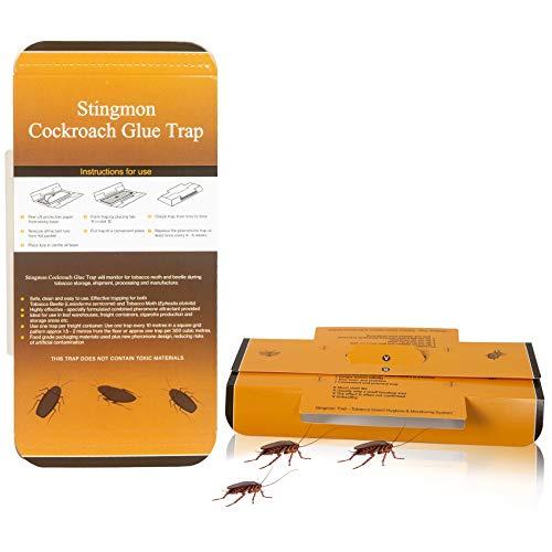 Stingmon 16PCS de Trampas para Cucarachas Trampa Colector de Cucarachas para Cocina y Sala