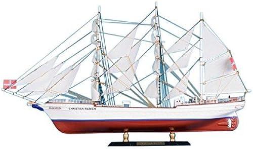 Seleccione de las marcas más nuevas como Christian Radich Limited 21 - Wooden Tall Ship Model Model Model - Decorative Wooden Boat - by Handcrafted Model Ships  entrega gratis