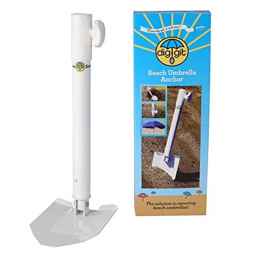 dig-git Best Beach Umbrella Anchor