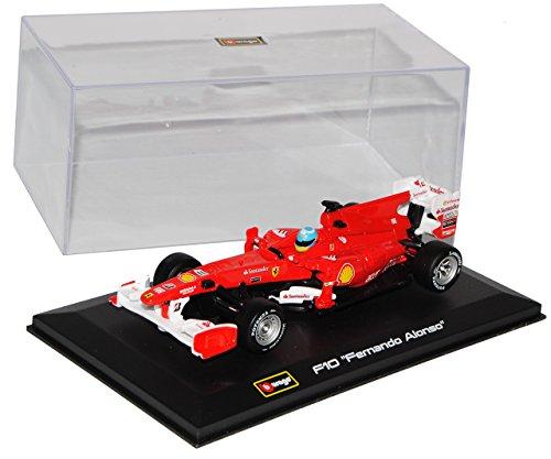 Ferrari F10 Fernando Alonso Nr 8 2010 Formel 1 1/32 Bburago Modelo Auto