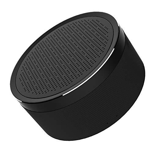 Xiao Jian draadloze Bluetooth luidspreker mini luidspreker voor mobiele telefoon met plug-in kaart voor auto draagbare subwoofer zwart.