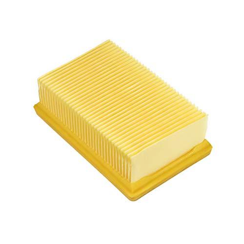 Flachfaltenfilter für Kärcher Mehrzwecksauger WD4 WD5 WD6 MV4 MV5 MV6 Serie Ersatz für 2.863-005.0 Austausch ohne...