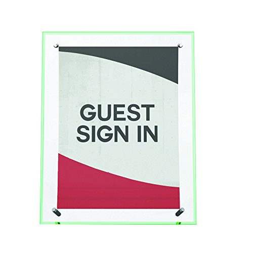 Deflecto Superior Image Curved Sign Holder, 8.5 x 11 Inches (799783) Photo #10