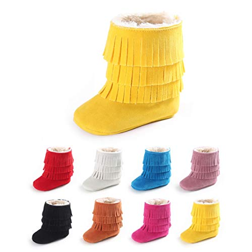 Infant Boots Yellow