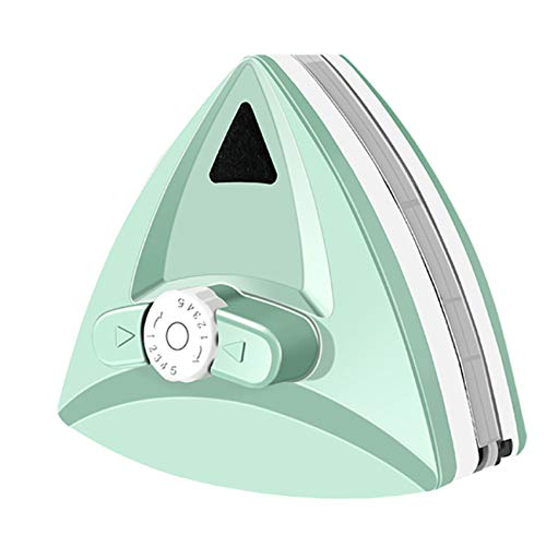 EasyULT Herramienta de Ventanas de Doble Cara, Magnético Ajustable, Cepillo de Vidrio de Doble Lado con Cuerda Anti-caída, para Ventanas Acristalamiento de 5-30mm de Grosor