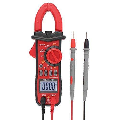 AC / DC del amperímetro del voltímetro del multímetro Ohmetro Tester pinza amperimétrica digital