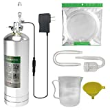 MagTool 4L Aquarium CO2 Generator System Carbon Dioxide Reactor Kit with Regulator and Needle Valve for 600-800g Raw Material