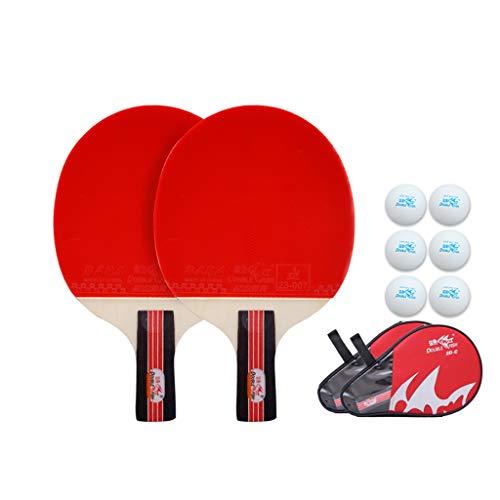Ping Pong Paddle - Paddle Profesional De Tenis De Mesa | Placa Base De Madera Pura De 5 Capas/TecnologíA De Esponja HP, Adecuada para Principiantes