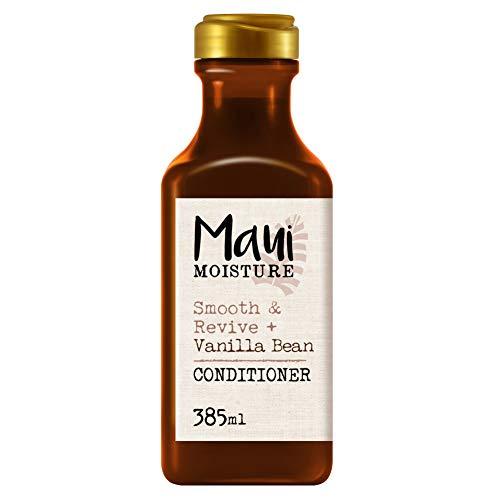 Maui Moisture, Acondicionador Repara y Suaviza Extracto de Vainilla, pelo Encrespado y Rebelde, 385 ml